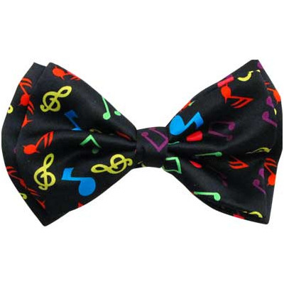 Bow Tie with Music Notes - Aim - 29607