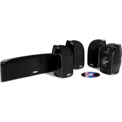 Polk Audio TL350 5-Channel Home Theater System (TL350) Black