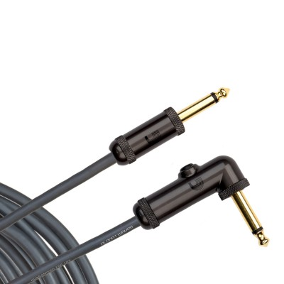 Planet Waves Circuit Breaker Instrument Cable - Right Angle - 10' - Planet Waves - PW-AGRA-10