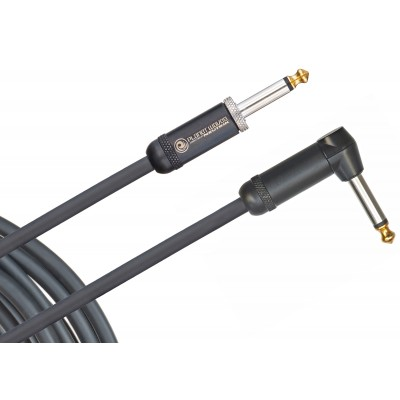 Planet Waves American Stage Instrument Cable - Right to Straight - 10' - Planet Waves - PW-AMSGRA-10