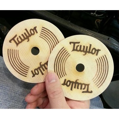 Taylor Sound Hole Coaster - Taylor Guitars - Taylorware, Home and Gifts - SOUND HOLE CUTS