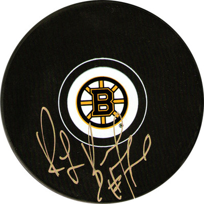 Ray Bourque Autographed Puck (Bos)