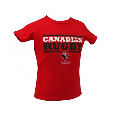 Kids' Canadian Rugby T-Shirt