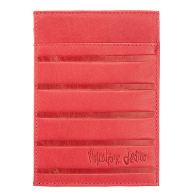 Mascalzone Latino Leather Credit Card Holder