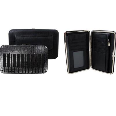 Wallet Aim Crystal Keyboard Clutch w/Outer pocket - Aim - 15473