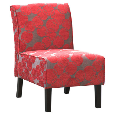 LONDON-ACCENT CHAIR-RED