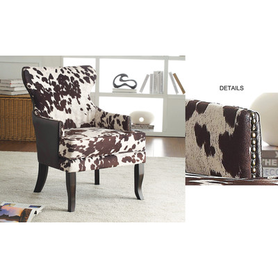 CALGARY II-ACCENT CHAIR-BROWN