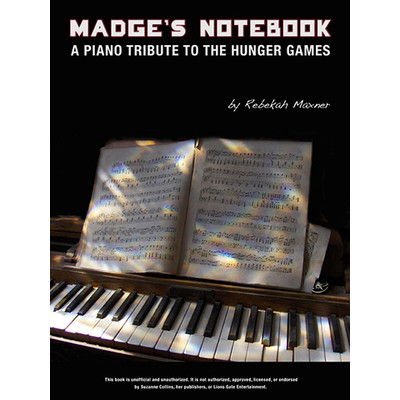 Music Madges Notebook (Based on Music from Hunger Games)(PA)