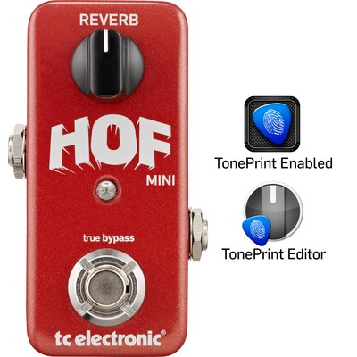 TC Electronic Hall of Fame Mini Reverb Effect Pedal - TC Electronic - 960803001