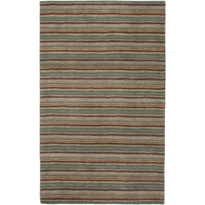 "eCarpetGallery Hand tufted Chic Forest Green Rug - 5'0"" x 8'0"""
