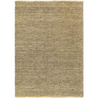 """eCarpetGallery Flat-weave Natural Dark Brown Kilim - 4'7"""" x 6'7"""""""