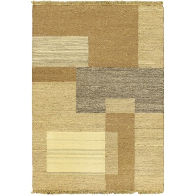 "eCarpetGallery Flat-weave Natural Beige Kilim - 4'5"" x 6'5"""