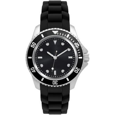 Matsuda Watch Flashy Silicon Strap - Unisex Small Size Black