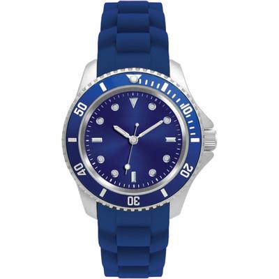 Matsuda Watch Flashy Silicon Strap - Unisex Small Size Blue