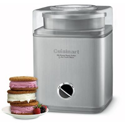 Cuisinart Pure Indulgence Frozen Yogurt, Ice Cream & Sorbet Maker, Brushed Chrome (ICE-30BCC)