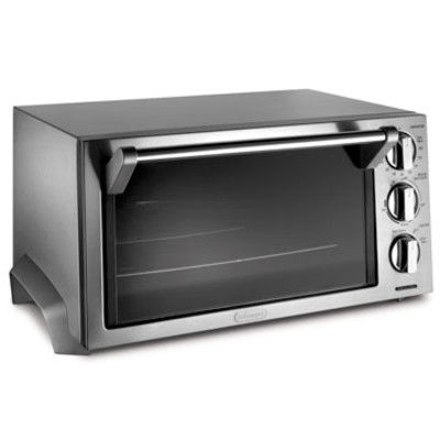 DeLonghi EO1260 Stainless-Steel Toaster Oven with Broiler