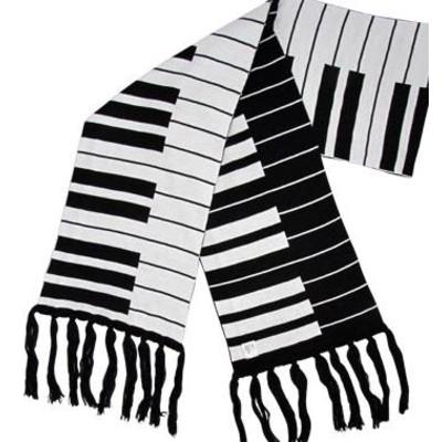 Scarf Aim Keyboard Black & White - Aim - 6602