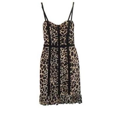 Betsey Johnson animal mesh dress