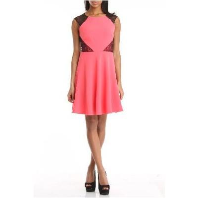 Betsey Johnson lace trim dress