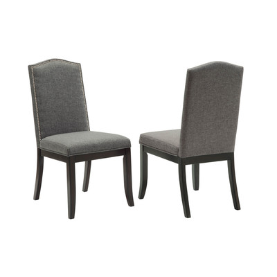 Vienna Box of 2 Side Chairs - Grey
