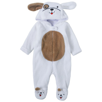 Newborn Boys Onesie with Hood - Puppy newborn costumes Sleeper