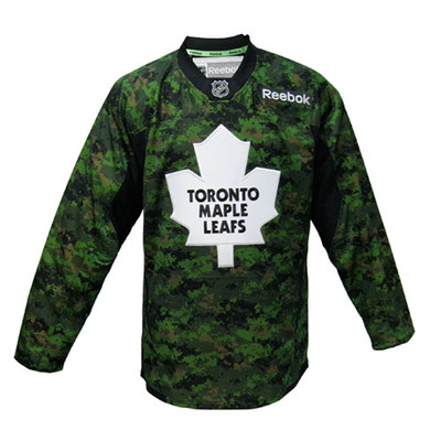 Toronto Maple Leafs Canadian Forces Camo Jersey