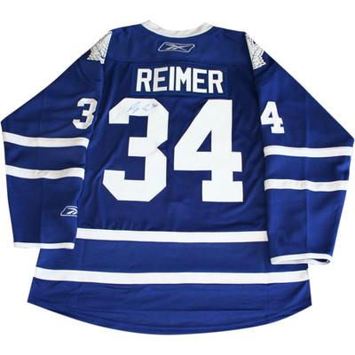 James Reimer Autographed Pro Jersey