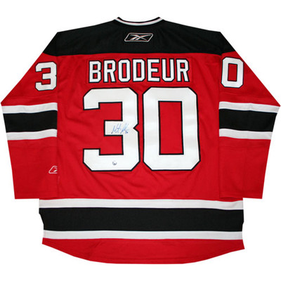 Martin Brodeur Autographed Pro Jersey