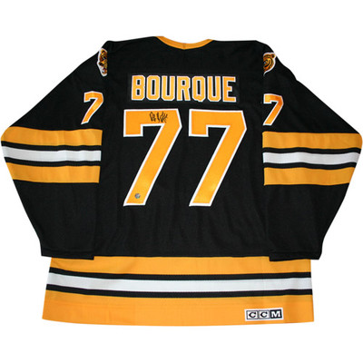 Ray Bourque Autographed Bruins Replica Jersey