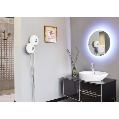 "LED Mirror Round 24"" X 24"""