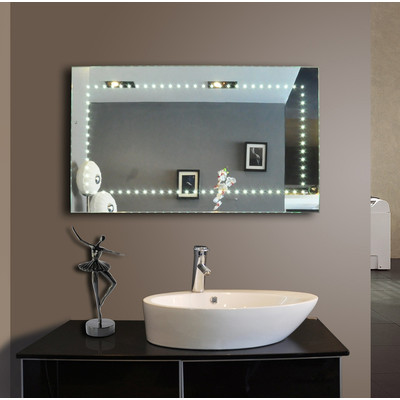 Bahroom LED Mirror Sparkle 40'' X 24''