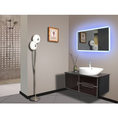 "LED Mirror Rectangle 40"" X 24"""