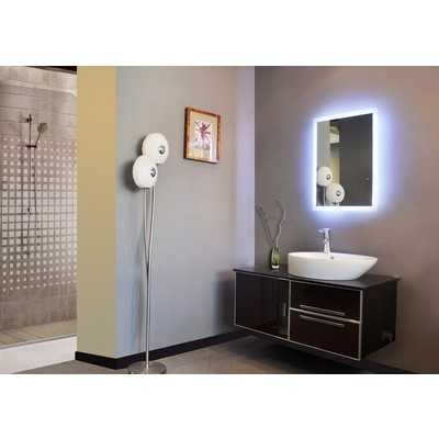 "LED Mirror Rectangle 28"" X 20"""
