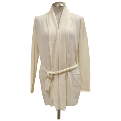 Lin Zhao Belted Pure Cashmere Cardigan