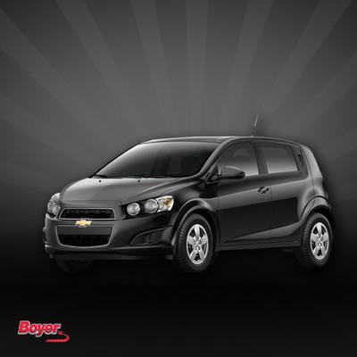 2013 Chevrolet Sonic LTZ 5-Door Automatic