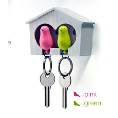 Duo Bird House & Key Chains
