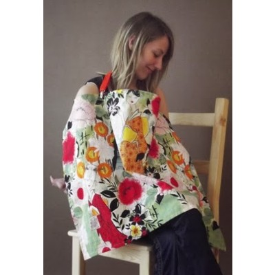 INTERCHANGEABLE NURSING COVER IN GEISHA GIRLS