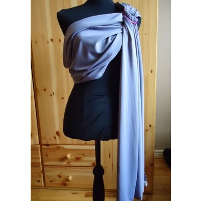 GRAY WATER RING SLING BABY CARRIER