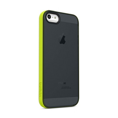 Belkin Grip Candy Sheer Case for iPhone 5/5S (Black/Green)