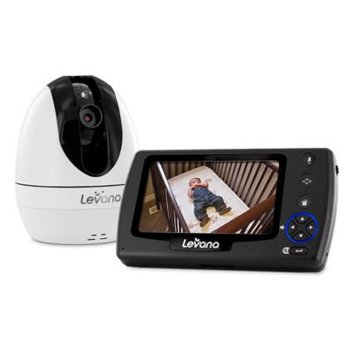 "Levana Ovia 4.3"" PTZ Digital Baby Video Monitor with Talk to Baby Intercom and SD Recording"