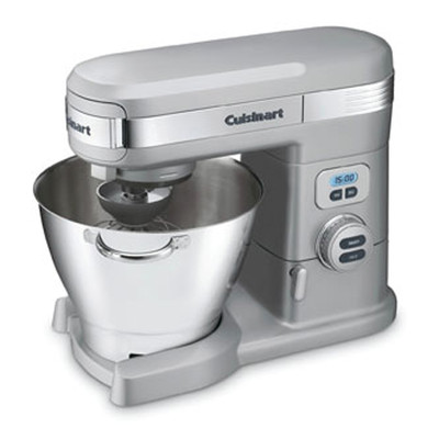Cuisinart 5.5 Quart Stand Mixer, Brushed Chrome (SM-55BCC)