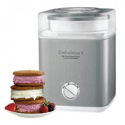 Cuisinart CIM60WPCC 2QT YOGURT SORBET & ICE CREAM MAKER