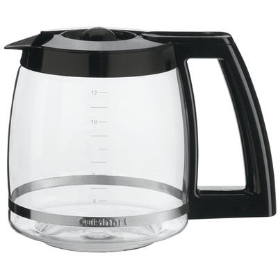 Cuisinart Black Replacement 12-cup Carafe, For Use with DCC-1200C (DCC-1200PRCC)