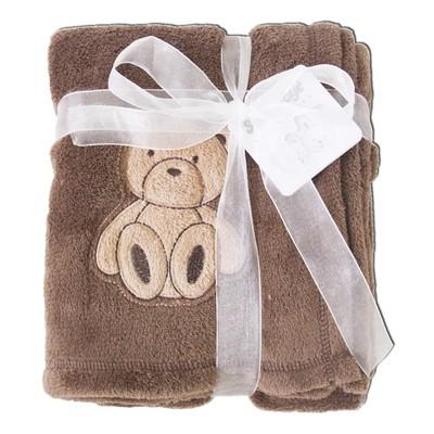 Baby Boy Blankets - Teddy Bear