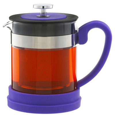 Grosche Valencia 600ml Personal Infuser Teapot - Purple