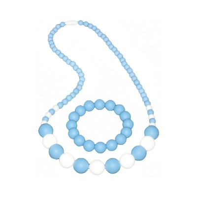 Boutique Chic Set - Powder Blue and White