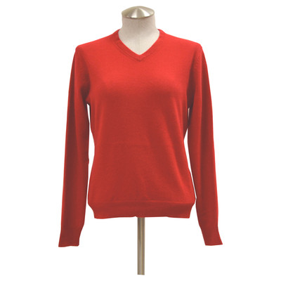 Lin Zhao Women's V-Neck Cashmere Sweater