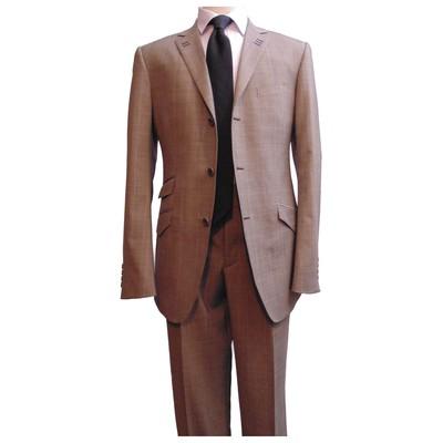 Brown suit- 3 button