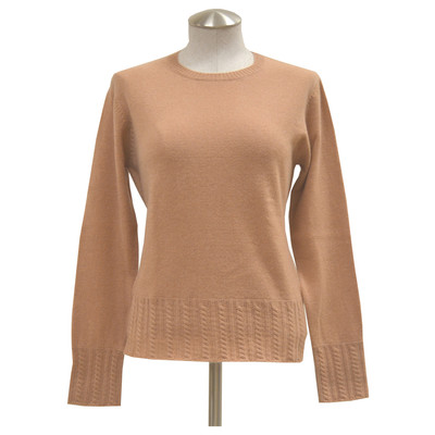 Lin Zhao Women's Ribbed Crewneck Cashmere Sweater