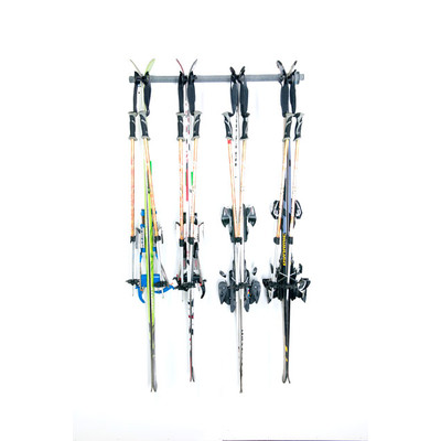 Ski Storage Rack (Holds 4 Pair)